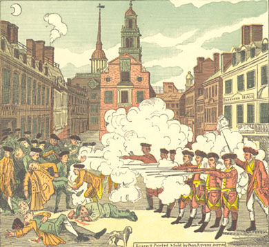 The Boston Massacre 1770