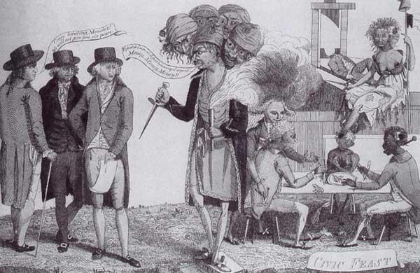 Refusing the paris monster 1797