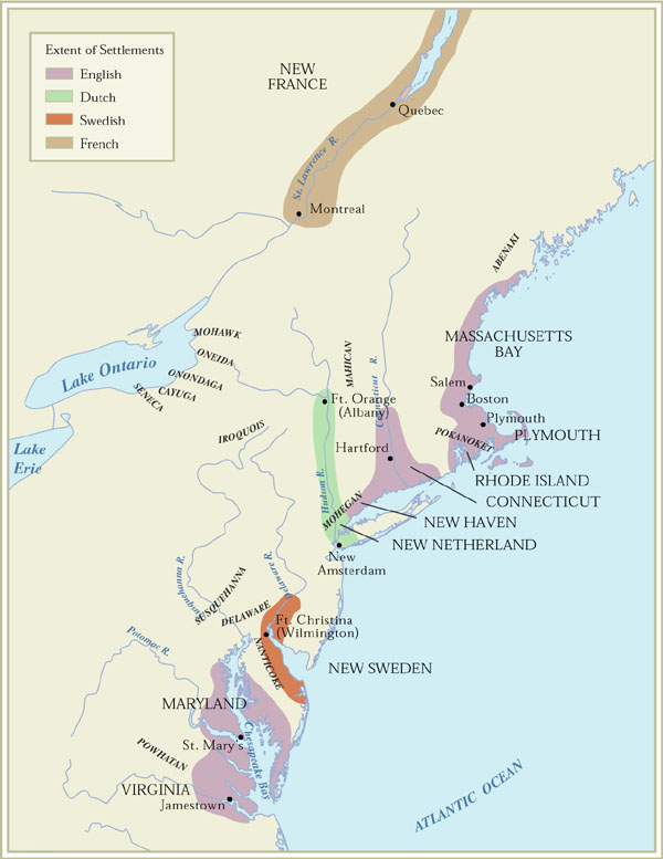 American Passages A History Of The United States Interactive Maps - United states map in french