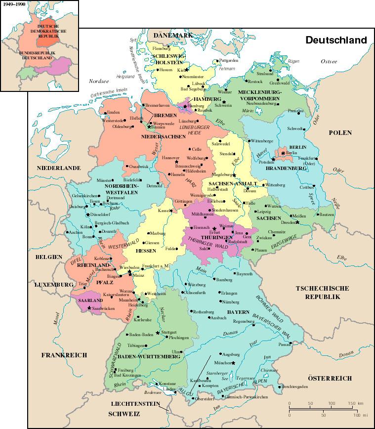 Deutschlandkarte deutschlandkarte nh