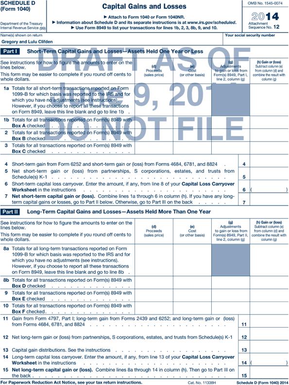 All Worksheets » Capital Loss Carryover Worksheet - Free Printable ...