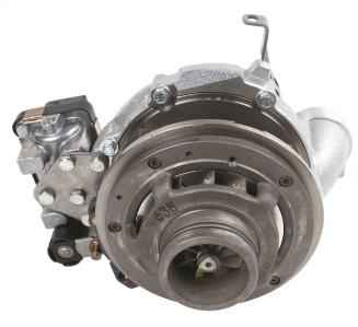 Variable nozzle turbine type turbocharger.